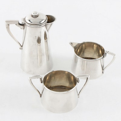 Webster Co. Sterling Silver Individual Tea Set