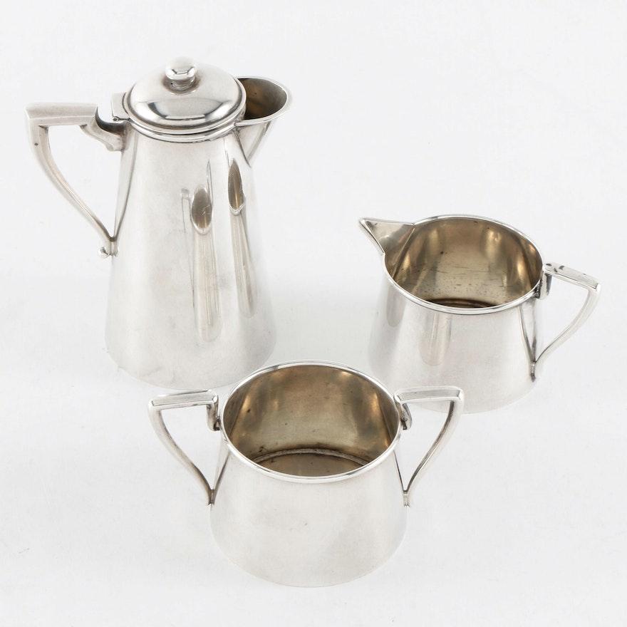 Webster Co. Sterling Silver Individual Tea Set