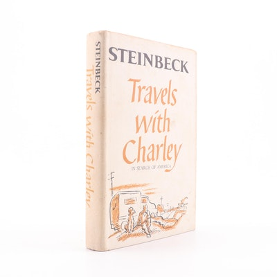 """1962 """"Travels with Charley"""" by John Steinbeck"""