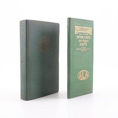 1930s ALA Automobile Green Book and Maps