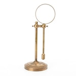 Sarreid Ltd. Brass Adjustable Tabletop Magnifying Glass