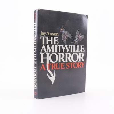 """1977 First Edition """"The Amityville Horror"""" by Jay Anson"""