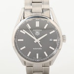 TAG Heuer Carrera Stainless Steel Automatic Wristwatch With Date Window