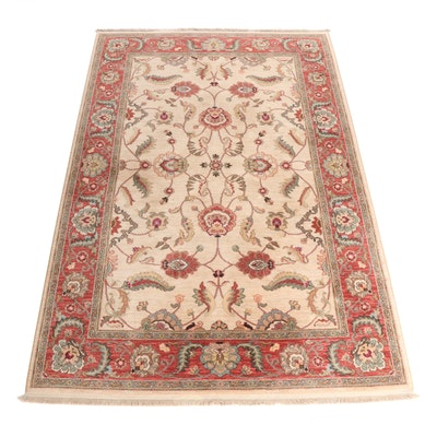 "Machine Made Karastan Ashara ""Agra Ivory"" Wool Rug"