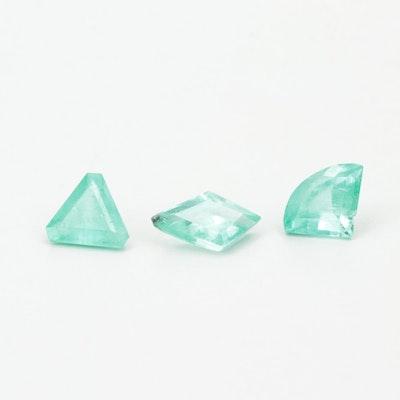 Loose 2.75 CTW Emerald Gemstones