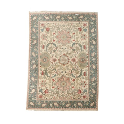 Hand-Knotted Anatolian Wool Soumak Room Sized Rug