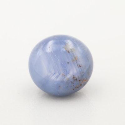 Loose 6.60 CT Star Sapphire Gemstone