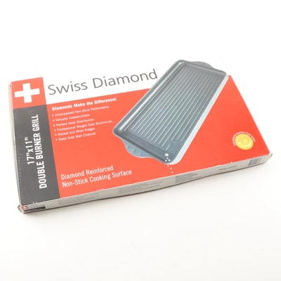 Swiss Diamind Double Burner Grill