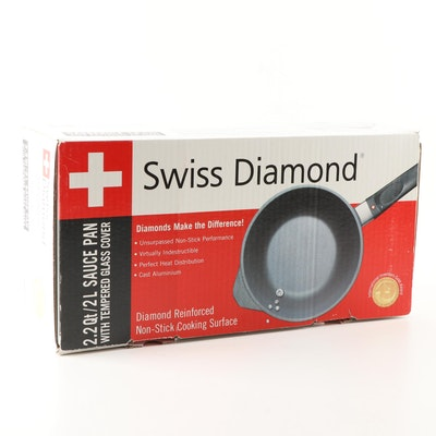 Swiss Diamond 2.2 Qt Sauce Pan