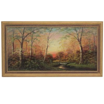 Raze Landscape Oil Painting