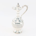 Hadad Brothers Sterling Silver Decanter