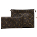 Louis Vuitton Monogram Canvas Toiletry Pouch and Checkbook Cover