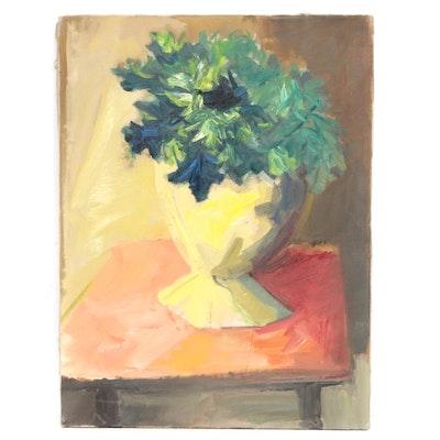 Mid 20th Century Still Life Oil Painting