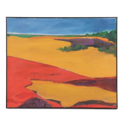 Graham Oil Landscape Painting