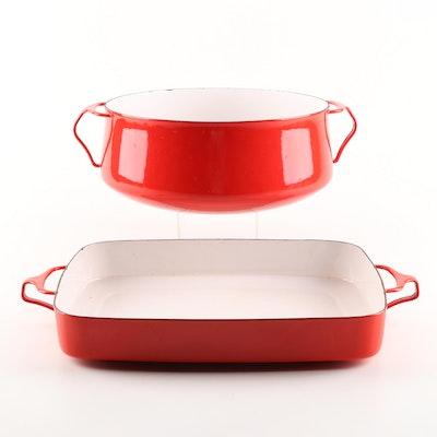 "Dansk ""Kobenstyle Red"" Bakeware"