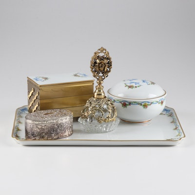 Vanity Grouping Featuring Limoges