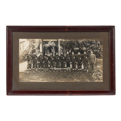 Asheville, North Carolina Semi-Professional Baseball Team Photograph, Circa 1920