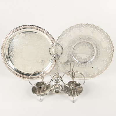 Rogers and James Dixon & Sons Silver Plate Serveware