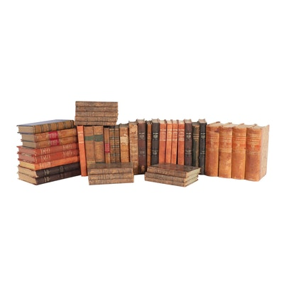 Large Assortment of Swedish Books, Circa 1900s
