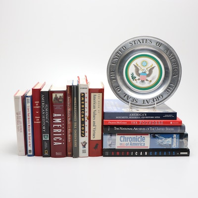 American History Book Collection featuring First Editions and Signed