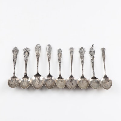 Sterling Silver Collectible Spoons