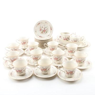 """Noritake """"Asian Song"""" Porcelain Dinnerware and Serveware, 1972 - 1986"""