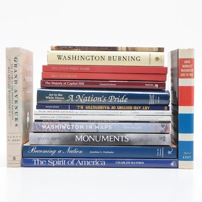 Historical Buildings, Monuments and Maps of Washington, D. C. Book Collection