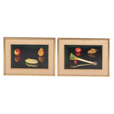 M. Fernandez Oil Paintings