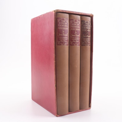 """1938 """"The Life of Samuel Johnson"""" by James Boswell"""