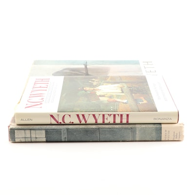 Art Books Featuring N.C. Wyeth and Andrew Wyeth