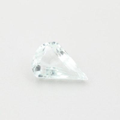 Loose 3.16 CT Aquamarine Gemstone