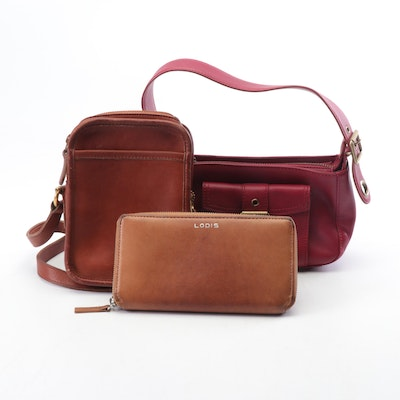 "Leather Bags Featuring Coach ""Kit Camera"" Crossbody & Marc Jacobs Shoulder Bag"