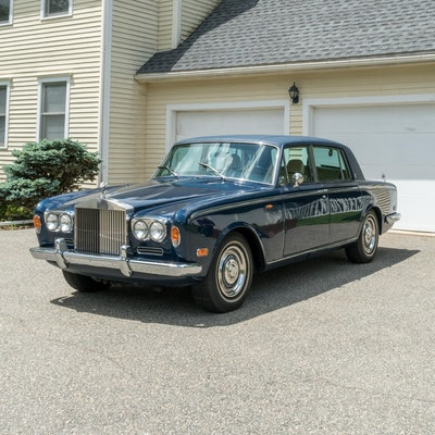 1972 Rolls Royce Silver Shadow LWB Left-Hand Drive Sedan in Seychelles Blue