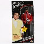"Boxed Michael Jackson ""Beat It"" Posable Doll, 1984"