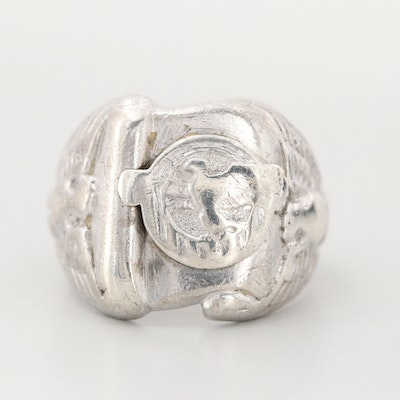 Sterling Silver Ruptured Duck Ring
