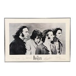 "Offset Lithograph Poster ""The Beatles"""