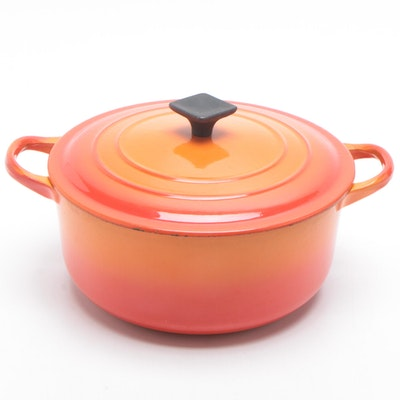 Le Creuset Cast Iron Dutch Oven, Late 20th Century