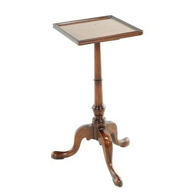English Mahogany Tripod Table, 20th Century