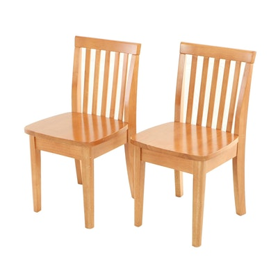 Pair of Contemporary Child's Side Chairs