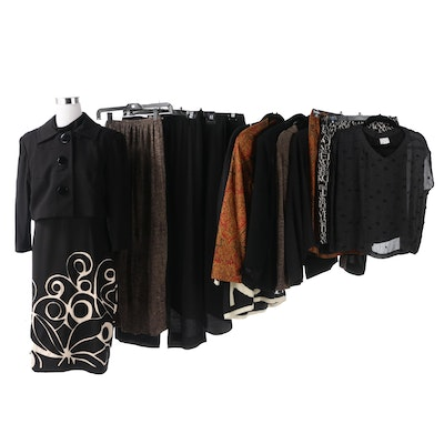 Women's Separates and Skirt Suits Including Kay Unger