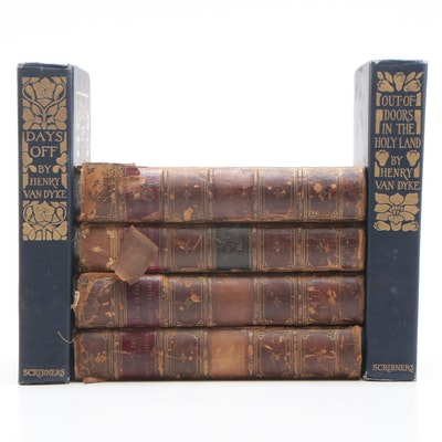 """1897 """"The Lives of the Chief Justices"""" by John Lord Campbell, Volumes 1-4"""