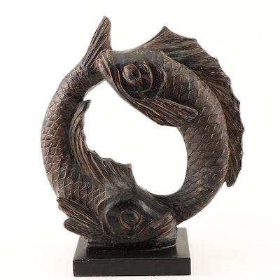 """Austin Productions Resin Sculpture """"Pisces"""""""