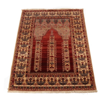 Machine Made Capel American Classic Collection Prayer Rug by Louis de Poortere