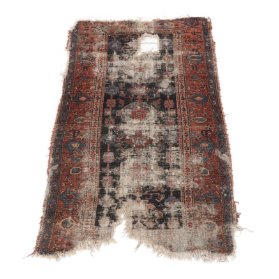 Hand-Knotted Persian Malayer Rug, Late 19th Century