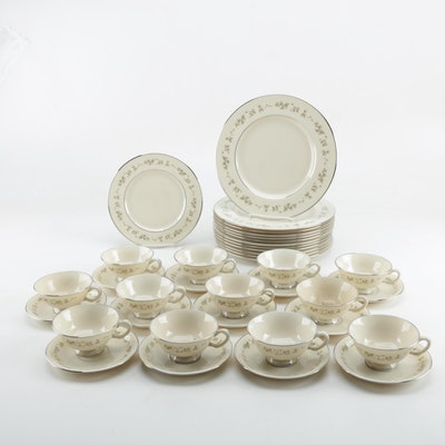 "Lenox ""Brookdale"" China Dinnerware, 1963 - 1993"