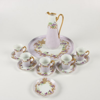 Tressemann & Vogt Porcelain Tea Service, Late 19th/Early 20th Century