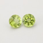 Loose 2.93 CTW Peridot Gemstones