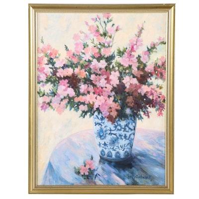 Betty Schwark Still Life Oil Painting
