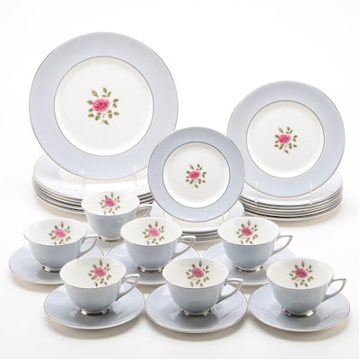"Royal Doulton ""Chateau Rose"" China Dinnerware for Six, 1964 - 1970"