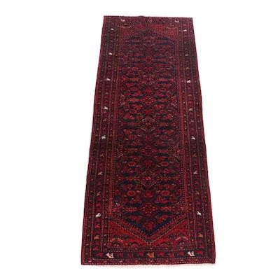 Hand-Knotted Northwest Persian Herati Wool Rug